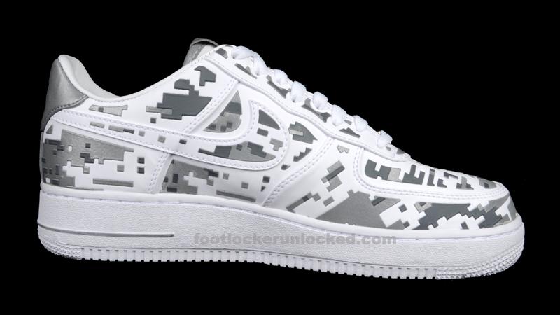 """Nike Air Force 1 Low """"Digi Camo"""" – Foot"""