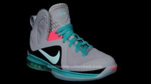 "a46ec4d22ee3 Nike LeBron 9 P.S. Elite ""Miami Vice"" » FL Unlocked Nike LeBron 9 Elite  Miami Vice 02"