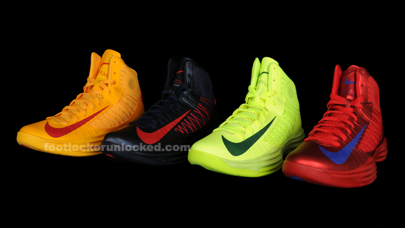 "online store 729d5 c177c Nike Lunar Hyperdunk ""Olympic Pack"" – Foot Locker Blog"
