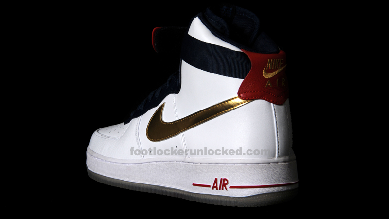 """new style 1e25e b0a61 Nike Air Force 1 Hi Premium """"Dream Team"""" – Foot Locker Blog"""