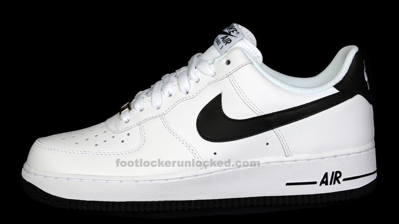 Nike Air Force 1 Low White Black Foot Locker Blog