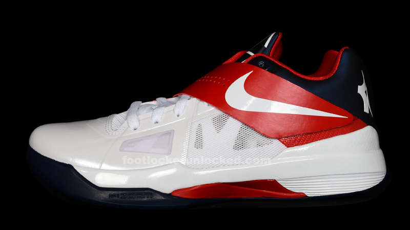 "cbb8574e87ee Nike Zoom KD IV ""USA"" – Foot Locker Blog"