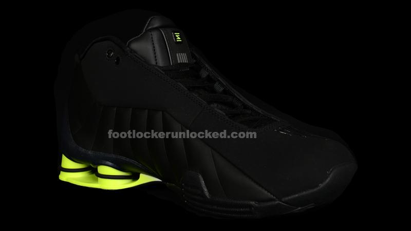 buy online 0a338 4ca7d FL Unlocked Nike Shox BB4 Black Volt 03 – Foot Locker Blog