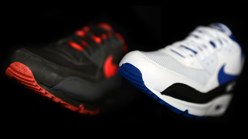 size 40 4c84a 696e9 This month the iconic Nike Air Max 90 shoe surfaces in Foot Locker stores  in two new colorways ...