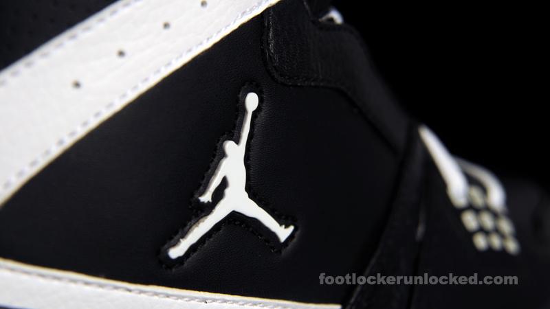 14d946ae772591 FL Unlocked Jordan 1 Flight Black White 05 – Foot Locker Blog