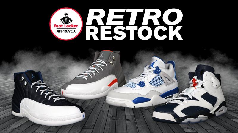 footlocker retros