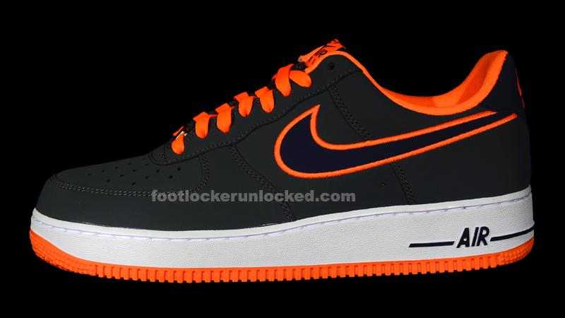 online retailer d1992 811ec nike air force 1 black orange