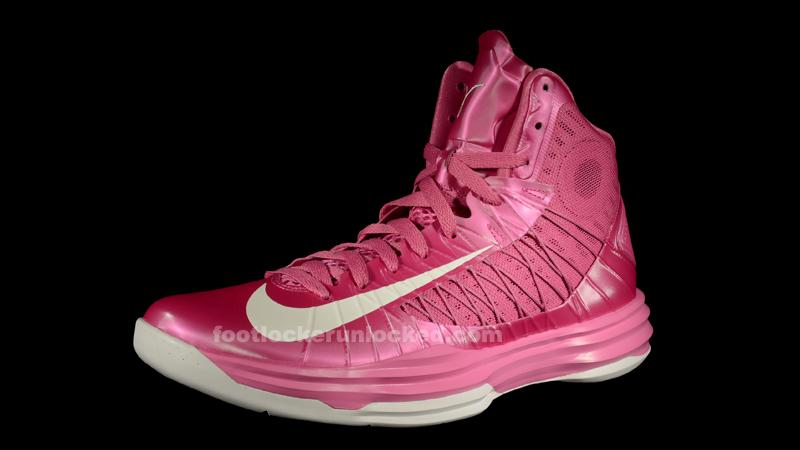 Cheap price Nike Lunar Hyperudnk 2012 X Low Nike Kay Yow Pink Bl
