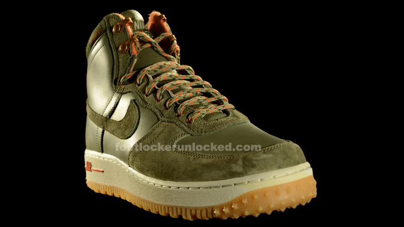 Nike Air Force 1 Hi Military Boot