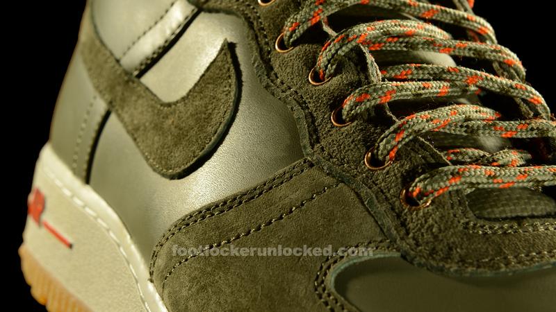 """a8a1e4cc2cf041 Nike Air Force 1 Hi Military Boot """"Silver Sage"""""""