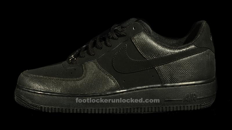 "Nike Air Force 1 ""Winterized"" Black"