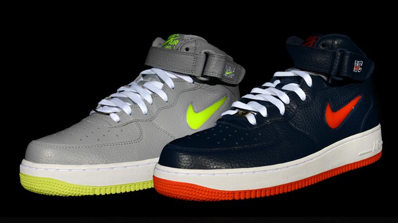 pretty nice a7f95 e3a0e Nike Air Force 1 Mid NYC Jewel Pack – Foot Locker Blog