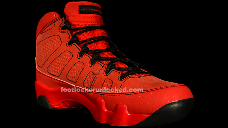 "new style a51a4 dae8e Jordan Retro IX ""Motorboat Jones"" – Foot Locker Blog"