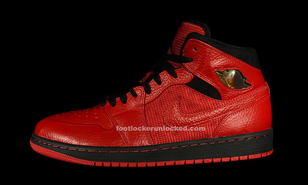 "size 40 8aeba 2ffe9 Air Jordan 1 Retro  97 Textile ""Red Black"""