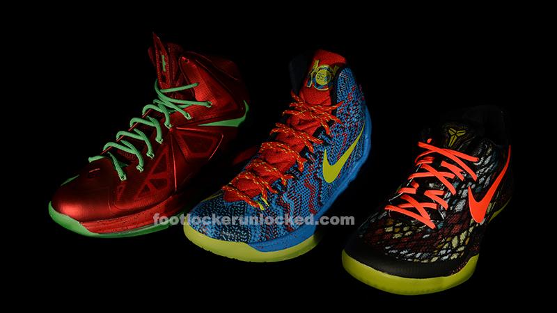 """wholesale dealer db352 af491 Nike Signature Player 2012 """"Christmas"""" Pack"""