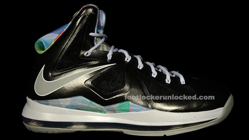 "quality design 9e0a8 68225 Nike LeBron X ""Prism"" – Foot Locker Blog"