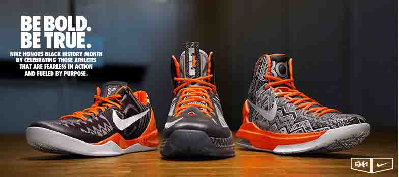 0f326a3de682 The Black History Month pack from Nike was originally unveiled last Monday  during the NBA ...