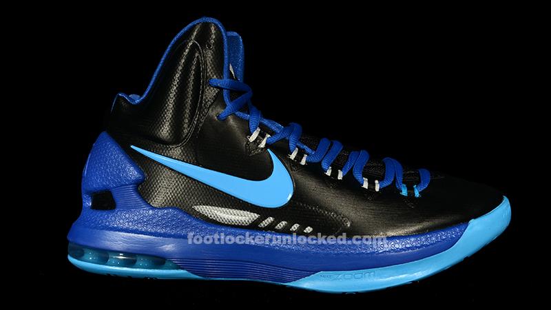 2d5b8a439008 Nike Zoom KD 5 V Black Blue Glow