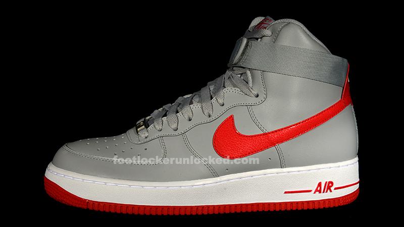 erupción Juicio madera  Nike Air Force 1 Hi Wolf Grey/Hyper Red – Foot Locker Blog