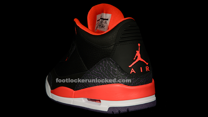 "5e8fd64e3fb261 Jordan Retro III ""Bright Crimson"" – Foot Locker Blog"