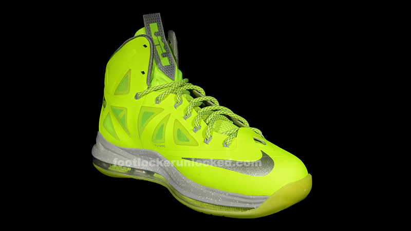 "Nike LeBron X ""Volt"" – Foot Locker Blog"
