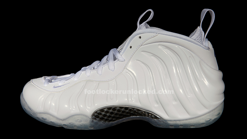 "9d568ad18fe Nike Air Foamposite One ""White"" – Foot Locker Blog"