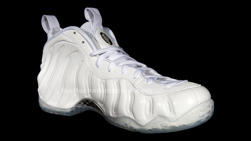 "Nike Air Foamposite One ""White"" – Foot"