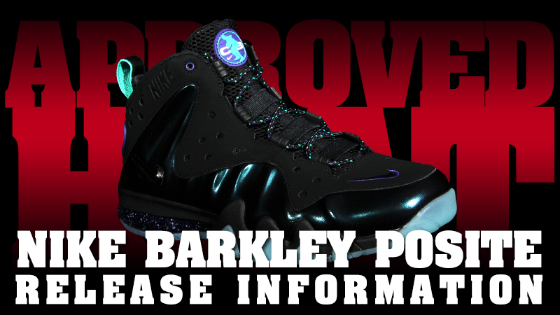 "wholesale dealer 71a76 c5f66 Nike Barkley Posite Max ""Eggplant"" Release Procedures"