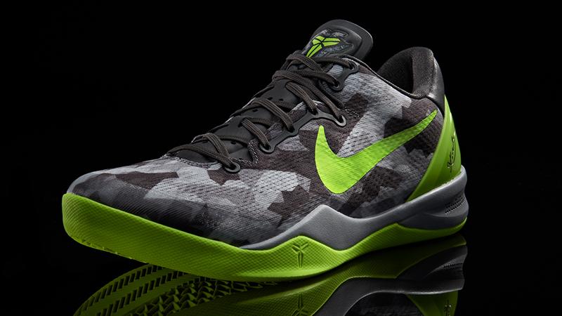 "ca15d5528afa Nike Kobe 8 ""Grey Volt Pure Platinum"" – Foot Locker Blog"