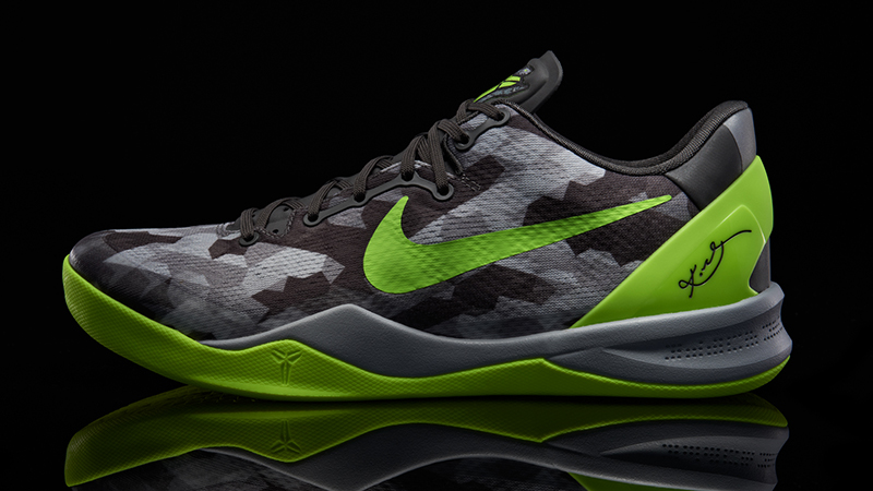 "timeless design 3cfc2 5b62e Nike Kobe 8 ""Grey Volt Pure Platinum"" – Foot Locker Blog"