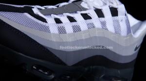 """bcedf3069ce9 Nike Air Max 95 No-Sew """"Grey"""" » FL Unlocked Nike Air Max 95 No Sew Grey  White 04"""