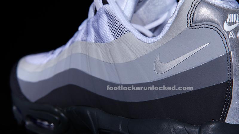 "eb4a6b930524 Nike Air Max 95 No-Sew ""Grey"" – Foot Locker Blog"