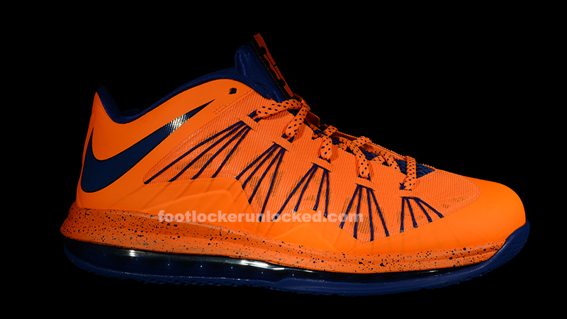 8b5df9d31b2d Nike Air Max LeBron X Low Bright Citrus Hyper Blue – Foot Locker Blog