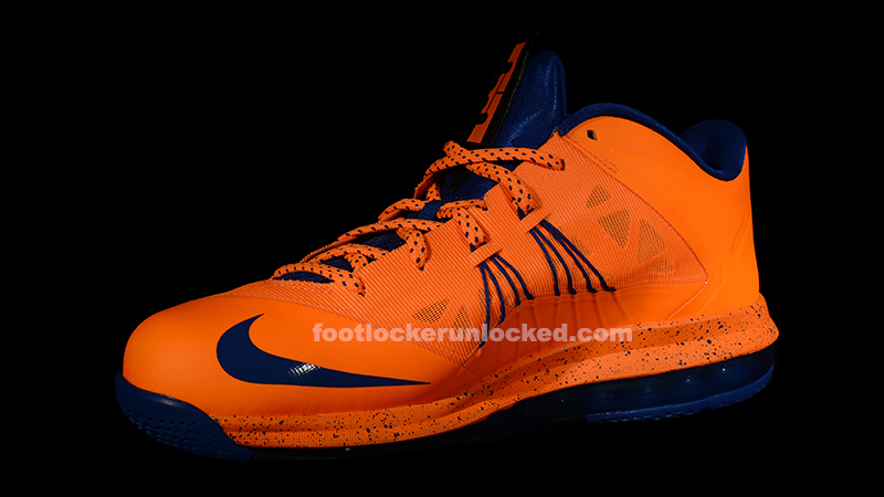 competitive price 05af3 54e67 Nike Air Max LeBron X Low Bright Citrus Hyper Blue – Foot Locker Blog