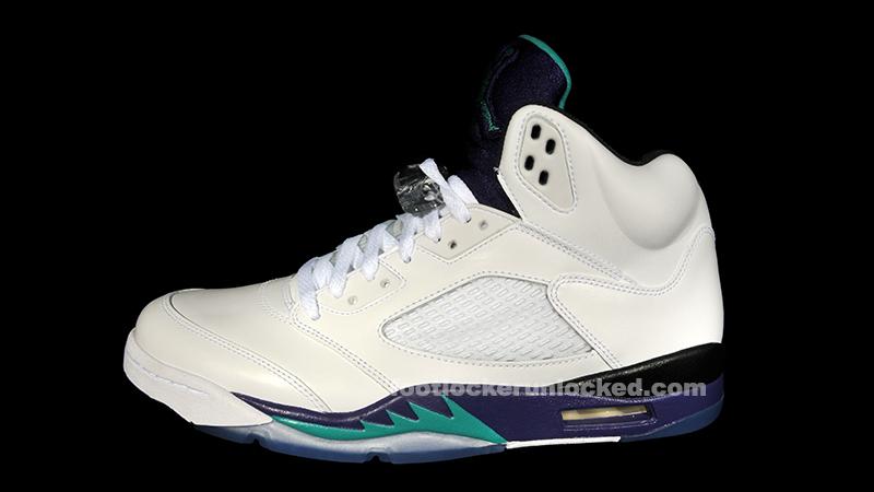 """brand new 7e72d b4176 Air Jordan 5 Retro """"Grape"""" – Foot Locker Blog"""