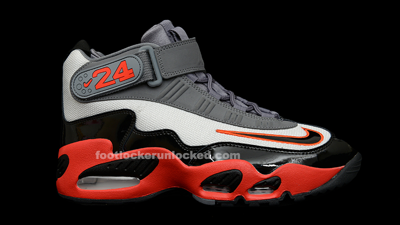 "detailed look df279 6528c Nike Air Max Griffey 1 ""Reds"""