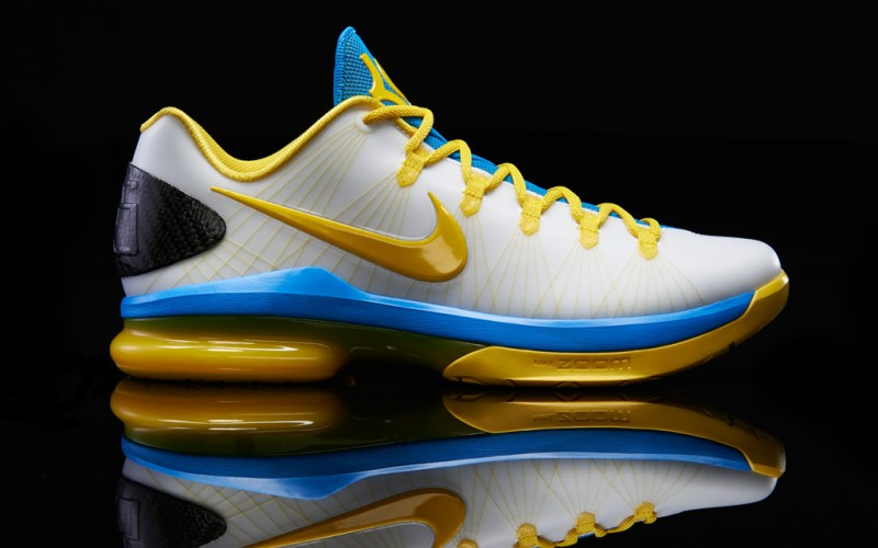 "low priced 3f5f7 ec931 Nike KD V ELITE ""White Tour Yellow Photo Blue"""