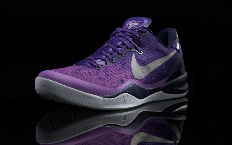 "finest selection cfc1e b735f Nike Kobe 8 ""Purple Platinum"" – Foot Locker Blog"