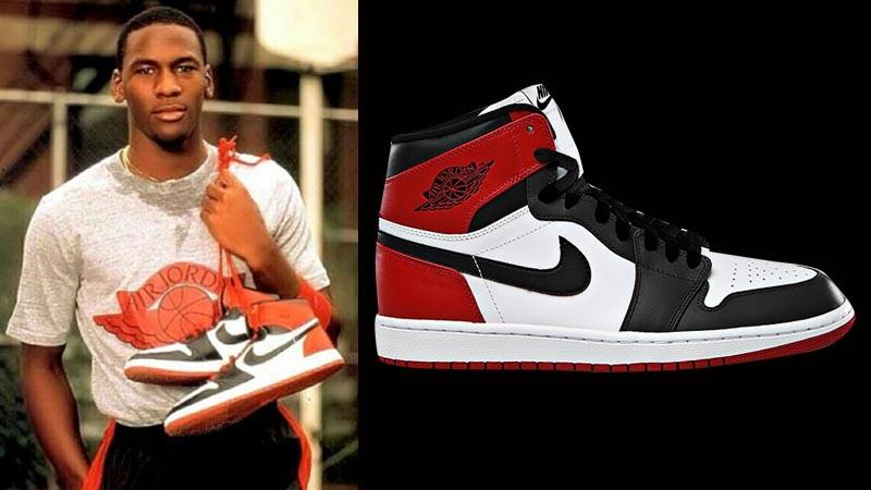 "c17f17014b62fc Air Jordan 1 Retro Hi OG ""Black Toe"" Release Details – Foot Locker Blog"