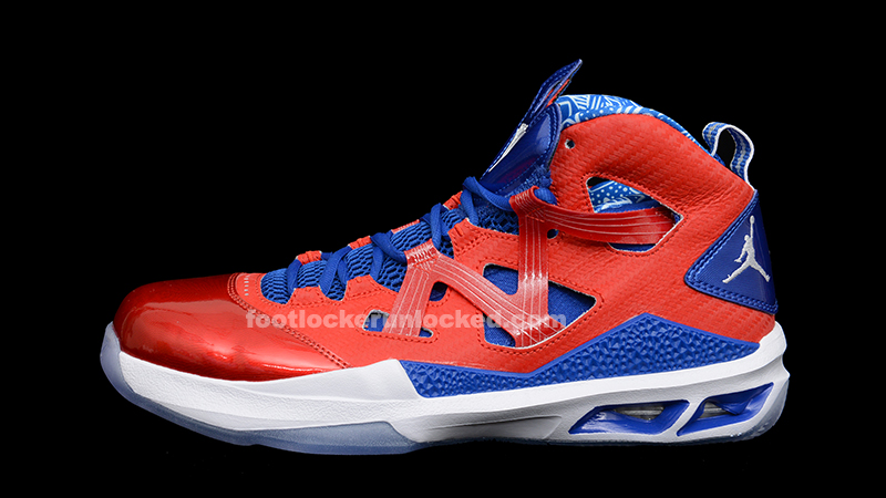 "huge discount 486d0 09a6e Air Jordan Melo M9 ""Puerto Rico"" – Foot Locker Blog"