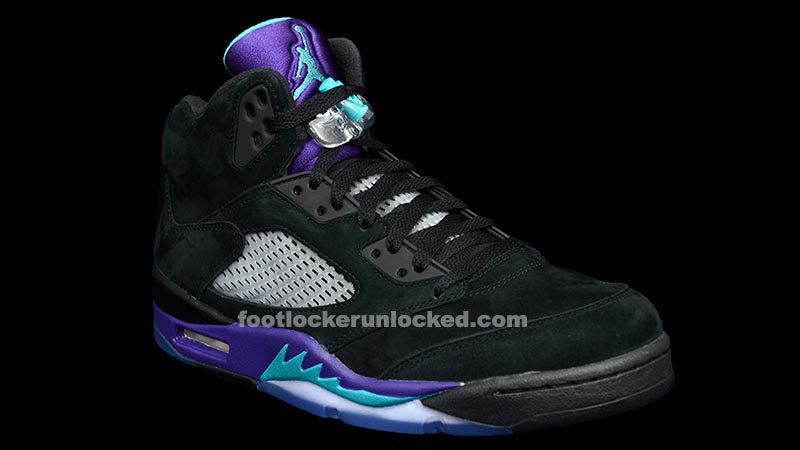 "watch 10b7b 74b70 Air Jordan 5 Retro ""Black Grape"" Release Details"