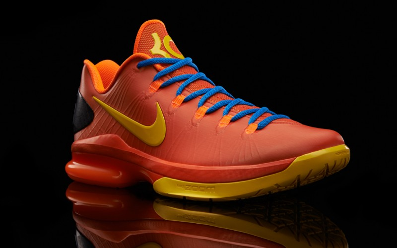 "size 40 a9070 2ac68 Nike KD V Elite ""Team Orange"" – Foot Locker Blog"