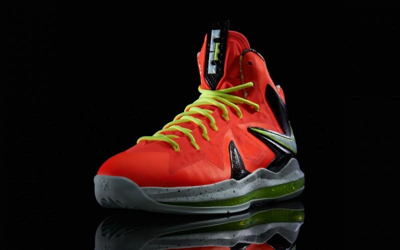 "ebffd2e18b4 Nike LeBron X PS ELITE ""Total Crimson"" – Foot Locker Blog"