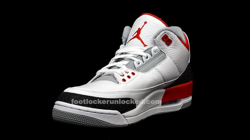 "buy popular 2c53b 4b5c6 Air Jordan 3 Retro ""White Fire Red"" Release Details – Foot Locker Blog"