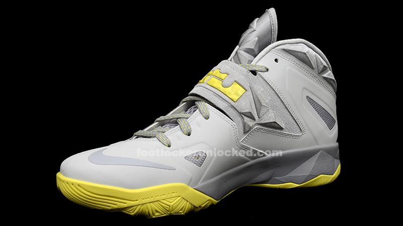 uk availability 3384e 2d5b7 FL Unlocked Nike LeBron Soldier VII Grey Yellow_02 – Foot ...