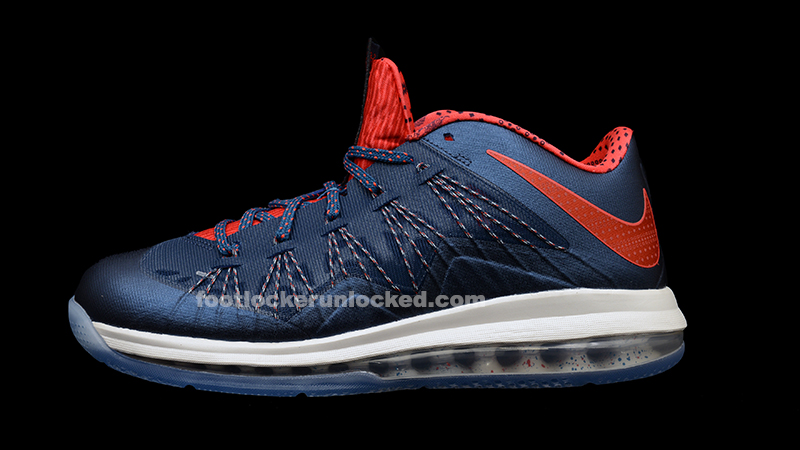 "a93ec70712fa5 Nike Air Max LeBron X Low ""USA"""