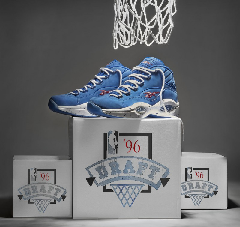 "d31513d4e2ff20 Reebok Question Mid "" 1 Draft Pick"" – Foot Locker Blog"