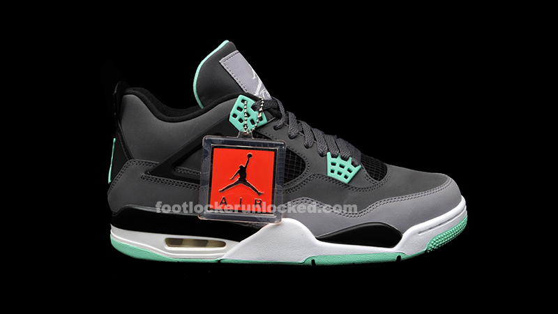 "brindis Flexible idea  Air Jordan 4 Retro ""Green Glow"" Release Details – Foot Locker Blog"