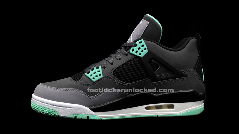 "a7cb72d17978 Air Jordan 4 Retro ""Green Glow"" Release Details – Foot Locker Blog"