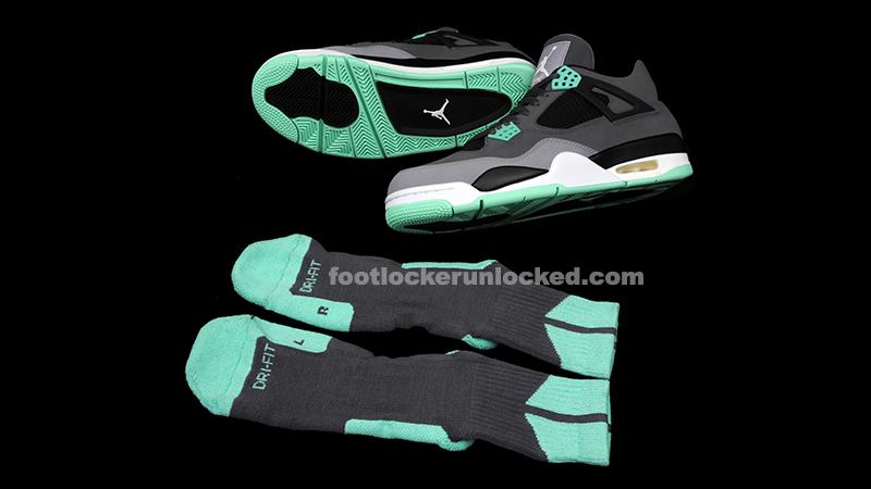 """huge selection of 3269d c767c Air Jordan 4 Retro """"Green Glow"""" Release Details – Foot ..."""